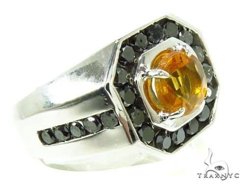 Mens Godfather Madeira Citrine Ring Metal