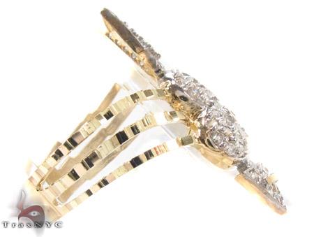 10K Yellow Gold Cupid Arrow Ring 33318 Anniversary/Fashion