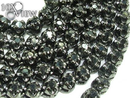 Black Diamond Chain 30 Inches, 4mm, 43 Grams Diamond