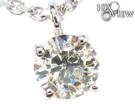 Solitaire Diamond Necklace Diamond