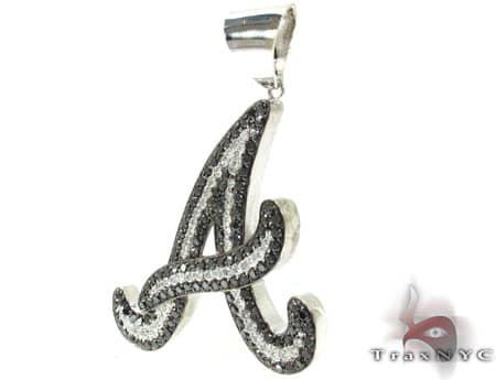 Custom A Pendant Metal
