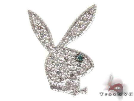 Large Single Bunny Earring Style