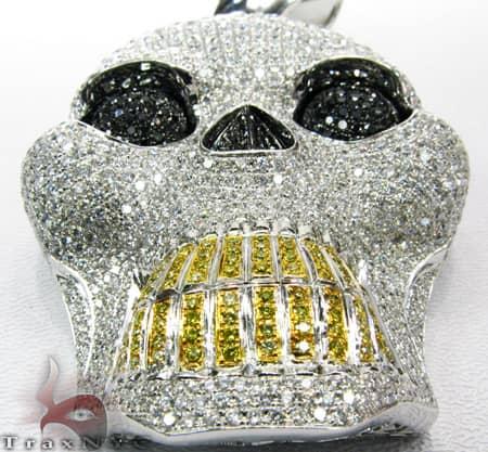 White XL Skull Head Style