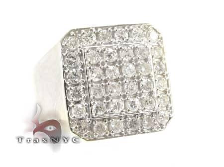 TraxNYC Light 14k White Gold Ring Stone