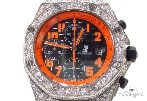 Audemars Piguet Royal Oak Offshore Volcano Diamond Watch Audemars Piguet Watches