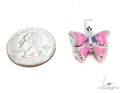 Butterfly Silver Pendant 36351 Metal