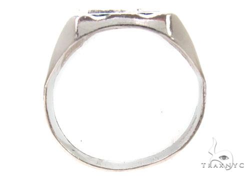 CZ Silver Ring 36810 Metal