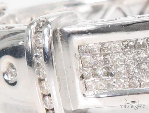 Invisible Diamond Bangle Bracelet 44137 Diamond