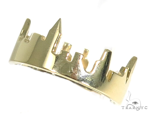 NYC Skyline Yellow Gold Ring 45349 Metal