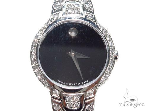 Pave Diamond Kara Movado Watch 41187 Movado