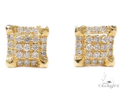 Prong Diamond Earrings 40387 Stone