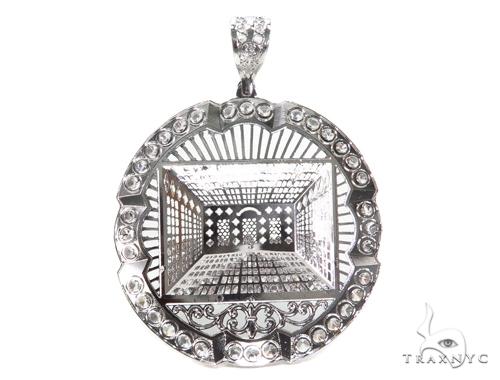 Sterling Silver Pendant 40881 Metal